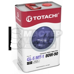 TOTACHI NIRO Super Gear 80W-90 GL-5/MT-1 (минеральное) 4л