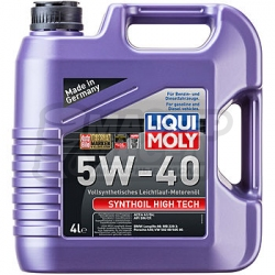 Liqui-Moly Synthoil High Tech 5W-40 SM/CF 4л