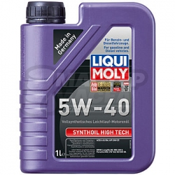 Liqui-Moly Synthoil High Tech 5W-40 SM/CF 1л