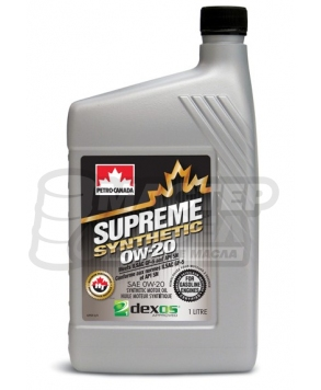 PC SUPREME SYNTHETIC 0W-20 SN 1л