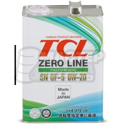 TCL Zero Line Fully Synth 0W-20 SN 4л