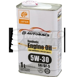 Autobacs Engine Oil Synthetic 5W-30 SN/GF-5 1л (Сингапур)